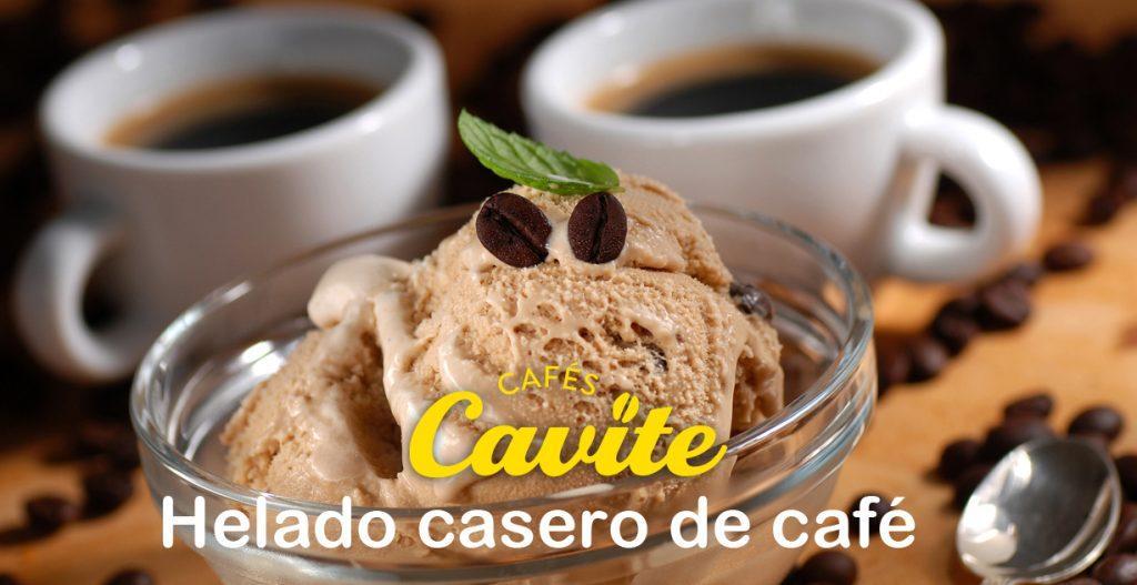 receta helado casero de café